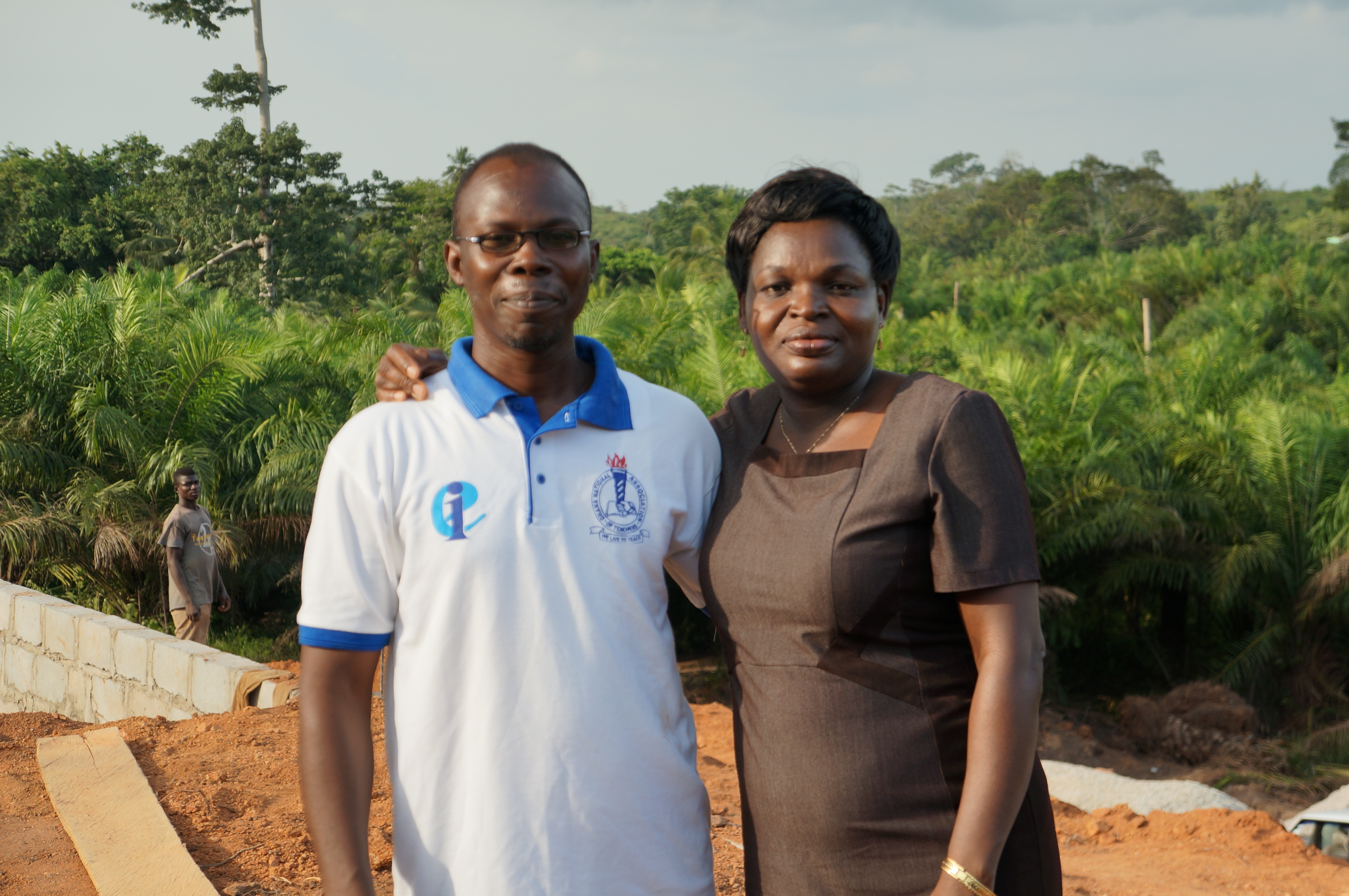Ebenezer and Comfort - the founders of Love and Care Children's home
